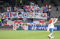 Supporters Lyon .Football Calcio 2012/2013.Ligue 1 Francia.Foto Panoramic / Insidefoto .ITALY ONLY