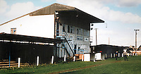 General view of Shortsands, St Neots Town Football Club, Cambridgeshire pictured circa 1988 - MANDATORY CREDIT: Gavin Ellis/TGSPHOTO - Self billing applies where appropriate - 0845 094 6026 - contact@tgsphoto.co.uk - NO UNPAID USE.