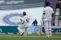 Neil Wagner, New Zealand celebrates the wicket of Shubman Gill, India during India vs New Zealand, ICC World Test Championship Final Cricket at The Hampshire Bowl on 19th June 2021