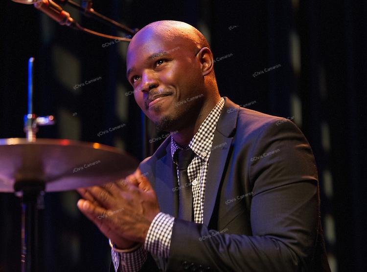 Ulysses  Owens Jr. plays at Performance Works on June 24 at the 2014 TD Vancouver International Jazz Festival