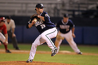 Xavier Musketeers Markus Kuykendoll #29 during a game vs. the Illinois State Redbirds at Chain of Lakes Stadium in Winter Haven, Florida;  March 5, 2011.  Illinois State defeated Xavier 7-6.  Photo By Mike Janes/Four Seam Images