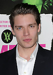 Dominic Sherwood  attends The Weinstein Company L.A. Premiere of Vampire Academy held at The Premiere House at Regal Cinemas L.A. Live Stadium 14 in Los Angeles, California on February 04,2014                                                                               © 2014 Hollywood Press Agency