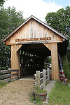 Cilleyville Bog Bridge, Andover, NH, covered bridge