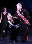 """Carol Kane and Darrell Hammond during the Curtain Call for the closing Night performance of  Encores! """"Call Me Madam"""" at City Center on February 10, 2019 in New York City."""