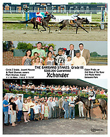 Xchanger winning The Barbaro Stakes at Delaware Park on 7/15/07