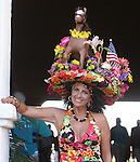 July 22, 2009.Opening Day at the Del Mar Racetrack, in Del Mar California, is all about hats.