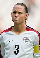 Christie Rampone of the USA. The United States defeated China 1-0 during the finals of the Four Nations Tournament in Guangzhou, China on January 20, 2008.