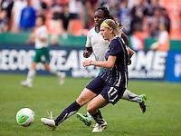 Nikki Marshall. The Washington Freedom defeated the Saint Louis Athletica, 3-1.