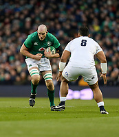 Saturday 2nd February 2019 | Ireland vs England<br /> <br /> Devin Toner during the opening Guinness 6 Nations clash between Ireland and England at the Aviva Stadium, Lansdowne Road, Dublin, Ireland.  Photo by John Dickson / DICKSONDIGITAL