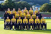 210314 Cricket - Wellington Blaze Team Photo