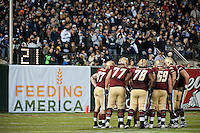 SAN FRANCISCO, CA--Boston College Eagles at the inaugural Kraft Fight Hunger Bowl at AT&T Park in San Francisco, CA.