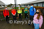 Students at Mercy Mounthawk wearing colours in support of @BeLongTo Stand Up Week at the school on Friday. front right: Adam O'Carroll and Awalina Gacek. Back l to r: Amy Cronin, Oisin O'Shea, Kaila Sugrue and Niall McMahon.