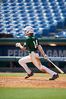 Jake Fox (14) of Lakeland Christian High School in Plant City, FL during the Perfect Game National Showcase at Hoover Metropolitan Stadium on June 20, 2020 in Hoover, Alabama. (Mike Janes/Four Seam Images)