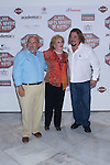 """30.05.2012. Premiere at the Callao Cinema in Madrid of the spanish movie """"Clara is not woman's name"""" A comedy directed by Pepe Carbajo. In the image Pepe Carbajo, Maria Jose Alfonso and Juan Muñoz (Alterphotos/Marta Gonzalez)"""