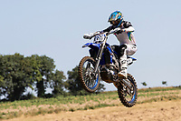 Shaun Palfrey, NGR. in action during the Richard Fitch Memorial Trophy Motocross at Wakes Colne MX Circuit on 18th July 2021