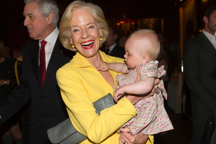 Her Excellency, the Governor General of Australia, Mrs Quentin Bryce attends a reception for the Australian community in New York at the Harvard Club.  photo: Trevor Collens
