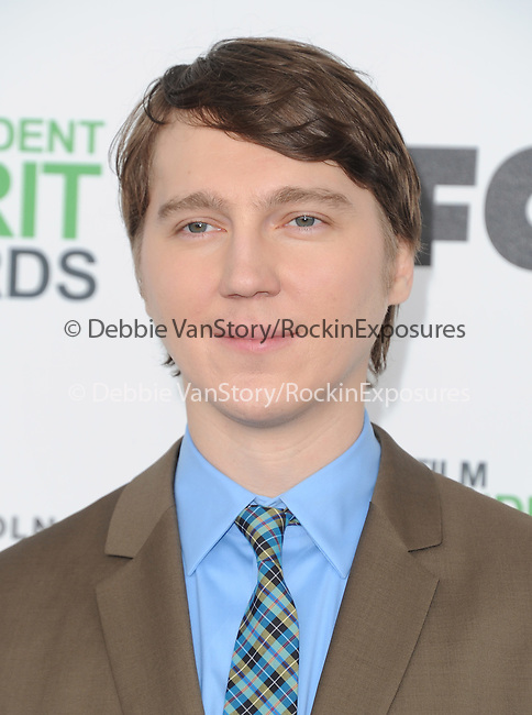 Paul Dano attends The 2014 Film Independent Spirit Awards held at Santa Monica Beach in Santa Monica, California on March 01,2014                                                                               © 2014 Hollywood Press Agency