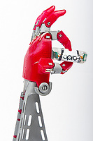 2019 08 08 Bionic Hand at the National Waterfront Museum, Swansea, Wales, UK
