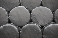 10/12/2020 Bales wrapped of silage <br /> ©Tim Scrivener Photographer 07850 303986<br />      ....Covering Agriculture In The UK....