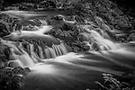 Small cascade in Copper Falls State Park near Mellen, Wisconsin