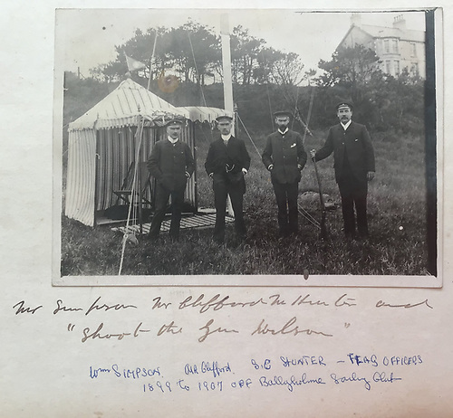BYC Flag officers in the early days