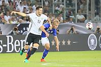 Niklas Süle (Deutschland Germany) gegen Joel Pohjanpalo (Finnland) - Deutschland vs. Finnland, Borussia Park, Mönchengladbach