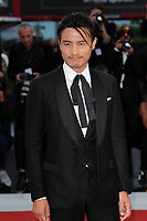 Chinese actor Le Geng arrives for the Award Ceremony of the 74th Venice Film Festival on September 8, 2017 in Venice, Italy.<br /> UPDATE IMAGES PRESS/Marilla Sicilia<br /> <br /> *** ONLY FRANCE AND GERMANY SALES ***