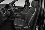 Front seat view of 2021 Chevrolet Suburban Premier 5 Door SUV Front Seat  car photos
