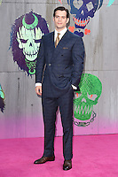 """Henry Cavill<br /> arrives for the """"Suicide Squad"""" premiere at the Odeon Leicester Square, London.<br /> <br /> <br /> ©Ash Knotek  D3142  03/08/2016"""