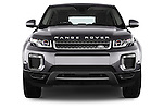 Car photography straight front view of a 2016 Land Rover Range Rover Evoque HSE 5 Door Suv Front View