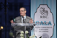 Steve Foster<br /> , President <br />  au Gala Phenicia de la Chambre de Commerce LGBT du Québec, tenu au Parquet de la Caisse de Depots et Placements du Quebec, jeudi, 26 mai 2016.<br /> <br /> <br /> PHOTO : Pierre Roussel -  Agence Quebec Presse