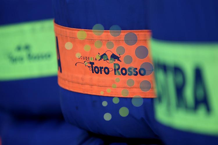 F1 GP of Australia, Melbourne 26. - 28. March 2010.Scuderia Toro Rosso Tires..Picture: Hasan Bratic/Universal News And Sport (Europe) 26 March 2010.