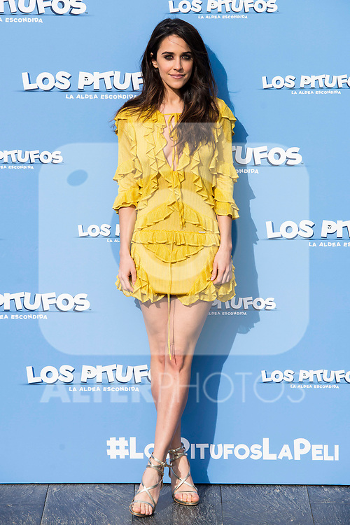 """Macarena Garcia attends to the presentation of the film """"Ls Pitufos"""" in Madrid. March 14, 2017. (ALTERPHOTOS/Borja B.Hojas)"""