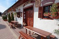 Wine cellars of Villany  ( Villany  ) Hungary.