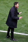 Atletico de Madrid's coach Diego Pablo Cholo Simeone during La Liga match. November 19,2016. (ALTERPHOTOS/Acero)