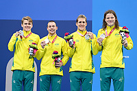 Mens 4x100 Medley Relay / Swimming Finals<br />Tokyo Aquatic Centre <br />2020 Tokyo Paralympic Games<br />Paralympics Australia / Day 10<br />Tokyo Japan :   September 3 2021<br />© Sportshoot / Delly Carr / PA