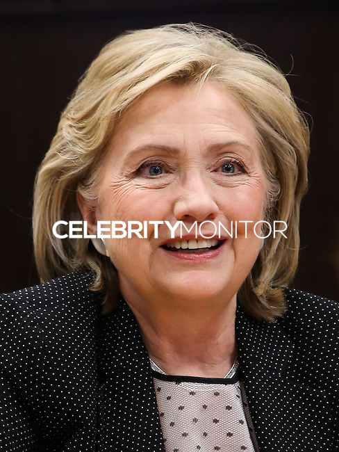 LOS ANGELES, CA, USA - JUNE 19: Hillary Rodham Clinton Signs And Discusses 'Hard Choices' at Barnes & Noble Bookstore at The Grove on June 19, 2014 in Los Angeles, California, United States. (Photo by Xavier Collin/Celebrity Monitor)