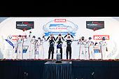 #7 Acura Team Penske Acura DPi, DPi: Helio Castroneves, Ricky Taylor, Alexander Rossi, #10 Konica Minolta Cadillac DPi-V.R. Cadillac DPi, DPi: Renger Van Der Zande, Ryan Briscoe, Scott Dixon, #6 Acura Team Penske Acura DPi, DPi: Juan Pablo Montoya, Dane Cameron, Simon Pagenaud, podium