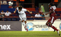 Megan Rapinoe of United States. The US Women's National Team defeated Haiti 5-0 during the CONCACAF Women's World Cup Qualifying tournament at Estadio Quintana Roo in Cancun, Mexico on October 28th, 2010.