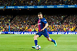 Jordi Alba Ramos of FC Barcelona in action during the La Liga 2017-18 match between FC Barcelona and Real Madrid at Camp Nou on May 06 2018 in Barcelona, Spain. Photo by Vicens Gimenez / Power Sport Images