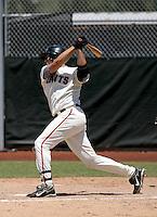 Eddy Martinez-Esteve - AZL Giants..Photo by:  Bill Mitchell/Four Seam Images