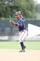 August 12, 2008: Robert Brooks of the GCL Braves.  Photo by: Chris Proctor/Four Seam Images