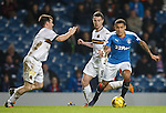 James Tavernier cuts inside with the ball