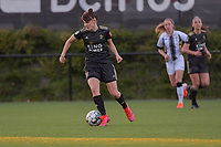 Zenia Mertens (6) of OHL pictured during a female soccer game between Sporting Charleroi and Oud Heverlee Leuven on the 17 th matchday of the 2020 - 2021 season of Belgian Scooore Womens Super League , tuesday 30 th of March 2021  in Marcinelle , Belgium . PHOTO SPORTPIX.BE | SPP | STIJN AUDOOREN
