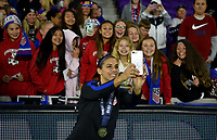 Orlando City, FL - Wednesday March 07, 2018: Alex Morgan during a 2018 SheBelieves Cup match between the women's national teams of the United States (USA) and England (ENG) at Orlando City Stadium.
