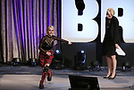 """Julie Halston hosts Sophia Anne Caruso previewing """"Beetlejuice"""" during BroadwayCon at New York Hilton Midtown on January 13, 2019 in New York City."""
