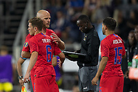 SAINT PAUL, MN - JUNE 18: Wil Trapp, Michael Bradley of the United States during a 2019 CONCACAF Gold Cup group D match between the United States and Guyana on June 18, 2019 at Allianz Field in Saint Paul, Minnesota.