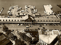 historical aerial photograph Washington Fish Market, Washington, DC, 1931