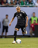 CHICAGO, IL - JULY 7: Luis Rodriguez #21 during a game between Mexico and USMNT at Soldiers Field on July 7, 2019 in Chicago, Illinois.