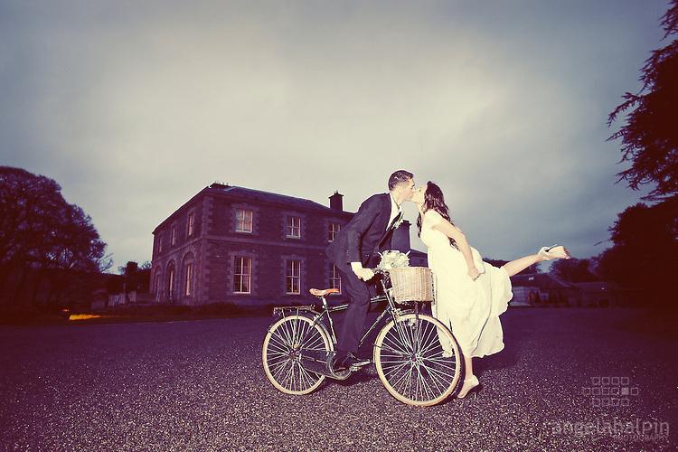 Aaron & Maria's Wedding  - Tankardstown House.Photography: Angela Halpin.http://whisperido.com.